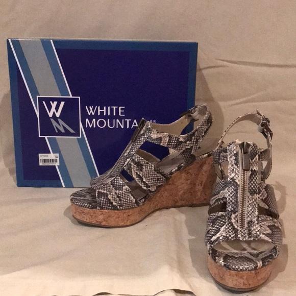 White Mountain Shoes - White Mountian Wedges